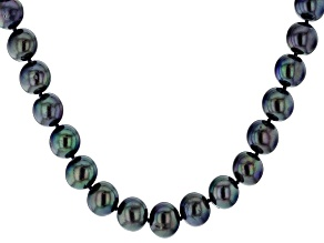 Pre-Owned Cultured Freshwater Pearl Strand Sterling Silver Necklace