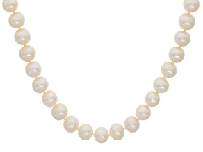 Pre-Owned Womens Classic Necklace Cultured Freshwater Pearl Sterling Silver 20 inch