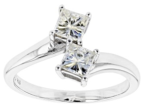 Pre-Owned Moissanite Platineve Ring 1.20ctw D.E.W