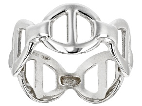 Pre-Owned Sterling Silver Valentino Ring