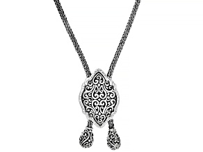 "Pre-Owned Sterling Silver ""Heaven's Door"" Necklace"