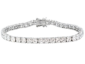 Pre-Owned Bella Luce® 17.07ctw White Cubic Zirconia Platinum Over Sterling Silver Bracelet