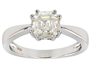 Pre-Owned Moissainte Pleatineve Ring 1.50ctw DEW.