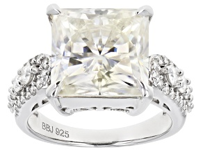 Pre-Owned Moissanite Platineve Ring 9.05ctw DEW.
