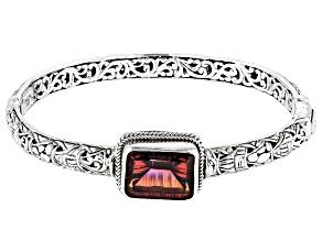 Pre-Owned Hayward's Muse™ Quartz Silver Bangle Bracelet 7.48ctw