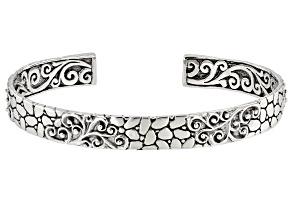 Pre-Owned Sterling Silver Cuff Bracelet