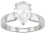 Pre-Owned Bella Luce3.6ctw White Cubic Zirconia Sterling Silver Solitaire Ring