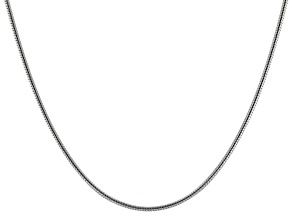 Pre-Owned Sterling Silver Snake Chain 18 inch