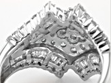 Pre-Owned Diamond 10k White Gold Ring 1.60ctw