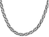 Pre-Owned Sterling Silver Chain Necklace