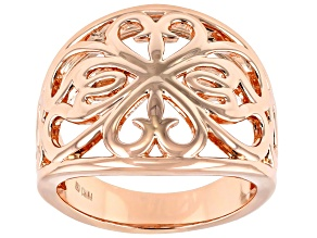 Pre-Owned Copper Filigree Band Ring