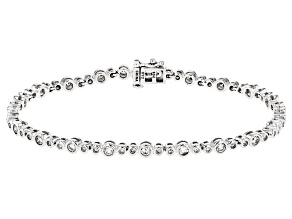 Pre-Owned White Diamond 10k White Gold Bracelet 2.00ctw
