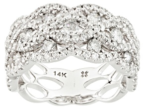 Pre-Owned Diamond 14k White Gold Ring 1.50ctw