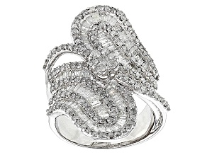 Pre-Owned Diamond 10k White Gold Ring 2.50ctw