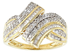 Pre-Owned Diamond 10k Yellow Gold Ring .63ctw