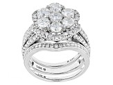 Pre-Owned Diamond 14k White Gold Ring 2.95ctw