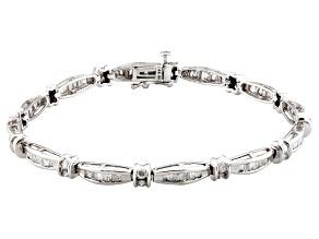 Pre-Owned Diamond 14k White Gold Bracelet 2.00ctw