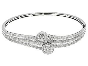 Pre-Owned Diamond 10k White Gold Bracelet 2.00ctw