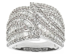 Pre-Owned Diamond 10k White Gold Ring 2.50ctw