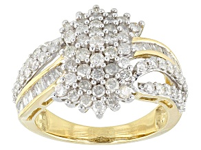 Pre-Owned Diamond 10k Yellow Gold Ring 1.50ctw