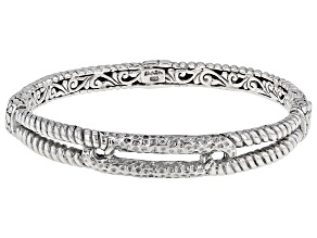 Pre-Owned Sterling Silver Bangle Bracelet