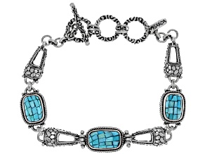 Pre-Owned Turquoise Silver Bracelet