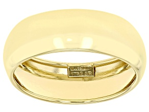 Pre-Owned 10k Yellow Gold 6.6mm High Polished Domed Mirror Ring
