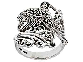 Picture of Pre-Owned Sterling Silver Hummingbird Ring