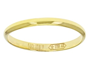Pre-Owned 14k Yellow Gold Polished Band Ring