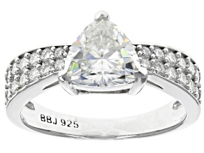 Pre-Owned Moissanite Platineve® Ring 2.12ctw DEW
