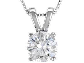 Pre-Owned Moissanite Platineve Pendant 2.20ct DEW