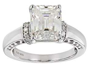 Pre-Owned Moissanite Platineve Ring 3.38ctw DEW.