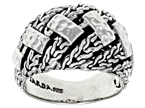 """Pre-Owned Sterling Silver """"Perseverance"""" Ring"""