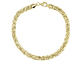 Pre-Owned 10K Yellow Gold Polished Woven Bracelet