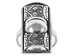 Pre-Owned Sterling Silver Berber Design Tribal Ring