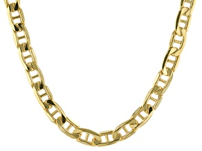 Pre-Owned 10k Yellow Gold Polished 5.5mm 20 inch Mariner Chain Necklace