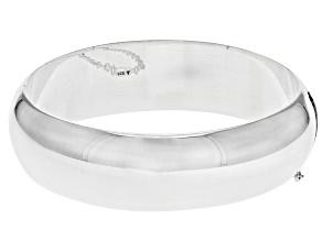 "Pre-Owned Sterling Silver 18MM 7"" Bangle Bracelet"