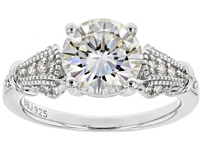 Pre-Owned Moissanite Platineve® Ring 2.32ctw DEW