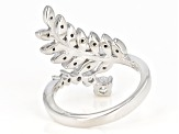 Pre-Owned Moissanite Platineve Ring .72ctw D.E.W