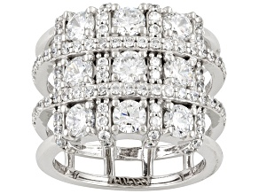 Amazingly Unique Bella Luce 4.89ctw Cubic Zirconia .925 Sterling Silver Ring