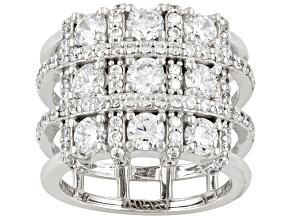 Amazingly Unique Bella Luce 4.89ctw Cubic Zirconia .925 Sterling Silver Ring