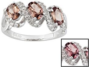 Color Shift Garnet Sterling Silver Ring 1.96ctw