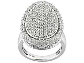 Pre-Owned Cubic Zirconia Silver Ring 3.60ctw