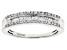 Pre-Owned White Diamond 10k White Gold Ring .25ctw