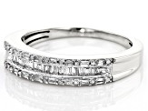 Pre-Owned White Diamond 10k White Gold Ring .25ctw