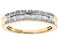 Pre-Owned White Diamond 10k Yellow Gold Ring .25ctw