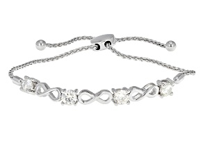 Pre-Owned Moissanite Adjustable Bracelet Platineve™ 2.00ctw DEW