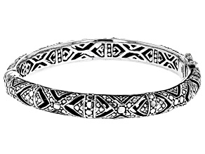 Pre-Owned Sterling Silver Bangle Bracelet