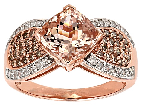 Pre-Owned Pink Morganite 10k Rose Gold Ring 2.60ctw