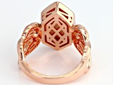 Pre-Owned Copper White Onyx Ring